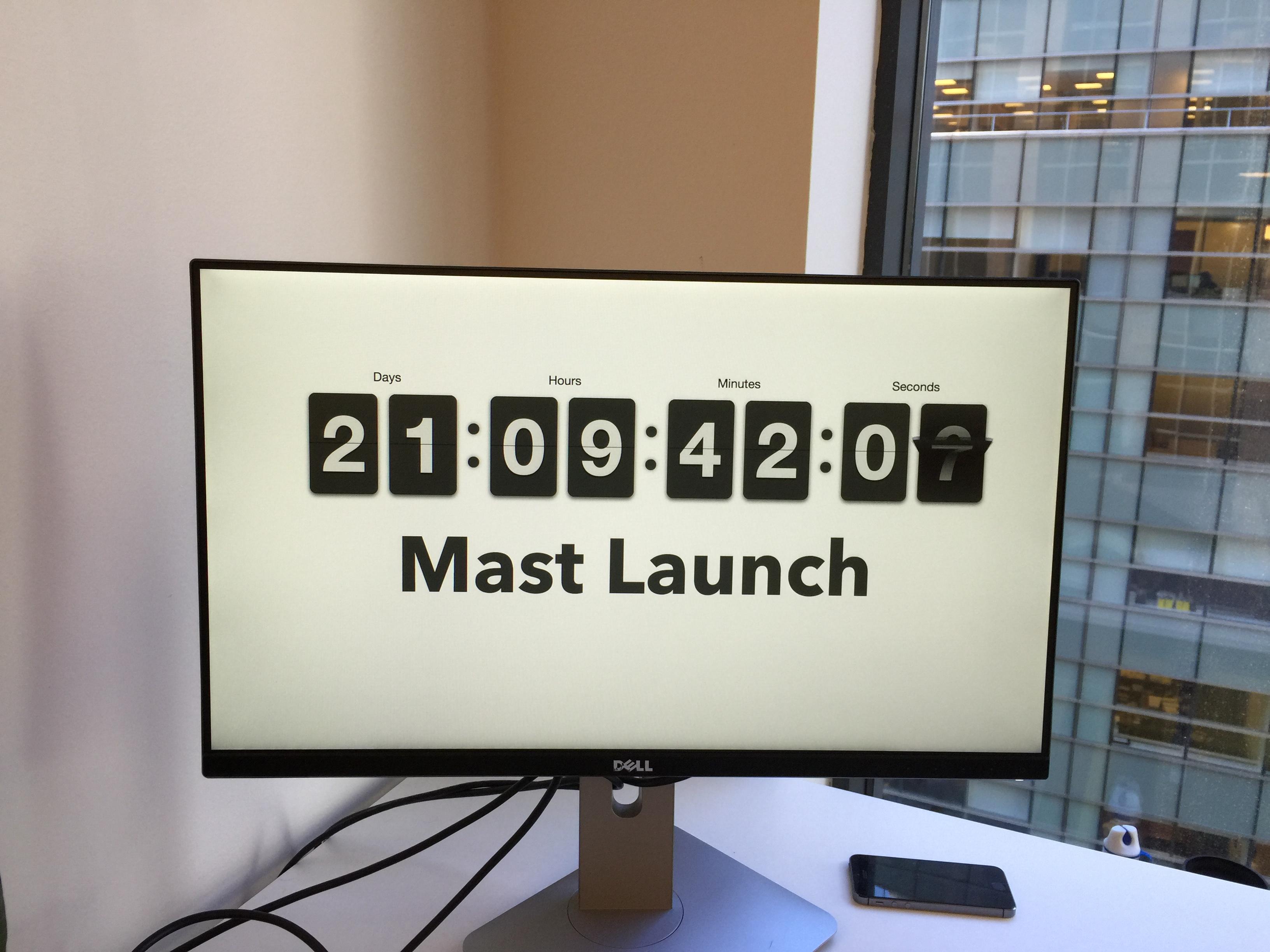 Mast Countdown, NYC